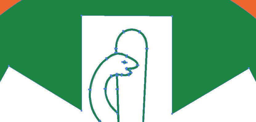 In deze afbeelding is EPS bestand te zien wat gemaakt is in Adobe Illustrator.